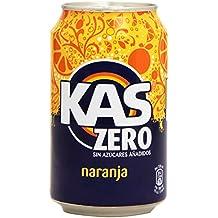 Kas refresco de Zumo de Naranja con Edulcorantes, sin Azúcares Añadidos - 33 cl