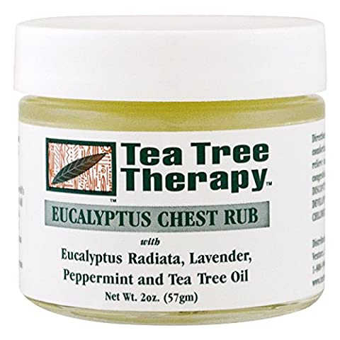 Eucalptus Chest Rub 2 Ounces by Tea Tree Therapy