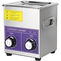 Cocoarm Edelstahl Digital Ultraschallreiniger Ultraschallreinigungsgerät Beheizte Reinigung Tank Maschine mit Heizung Digitale Timer und Korb