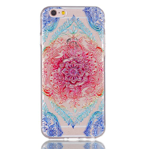 iphone 6 Plus / 6S Plus Hülle,iphone 6 Plus / 6S Plus Case,iphone 6 Plus / 6S Plus Silikon Hülle [Kratzfeste, Scratch-Resistant], Cozy Hut iphone 6 Plus / 6S Plus Hülle TPU Case Schutzhülle Silikon Cr Lace Blume