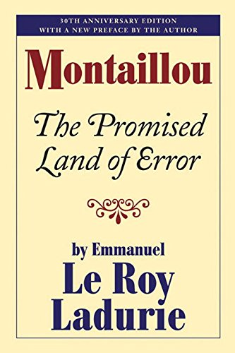 Montaillou: The Promised Land of Error por Emmanuel Le Roy Ladurie