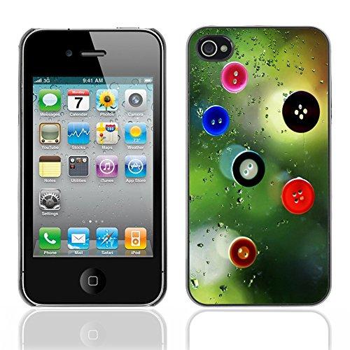Graphic4You Leaves Falling From Tree Autumn Theme Design Harte Hülle Case Tasche Schutzhülle für Apple iPhone 4 und 4S Design #3