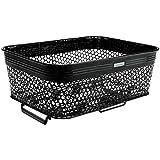 Electra Bicycle Electra Fahrrad QR Gitter Korb Basket Gepäck Netz Universal Stahl Stabil 36x27x13 cm, 54094, Farbe schwarz