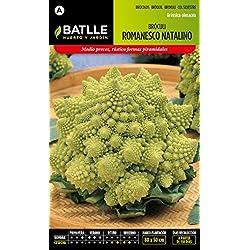 Semillas Batlle 010907BOLS - Bróculi Romanesco Natalino