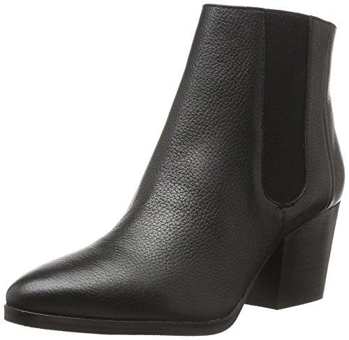 Bprivate - H1002x, Bottes Basses Avec Rembourrage Léger Femme Noir (noir (noir))