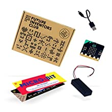 BBC Micro:bit Tech Will Save Us Starter Pack | Educational Coding Kit, Pocket Sized Programmable Computer, Gift for Boys, Girls, Teens, Kids, Ages 11 and up