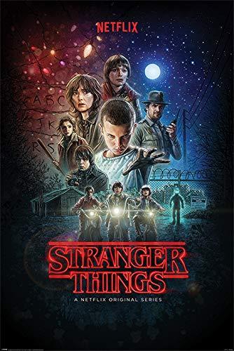 Stranger Things Póster, Multicolor, 61 x 91.5cm