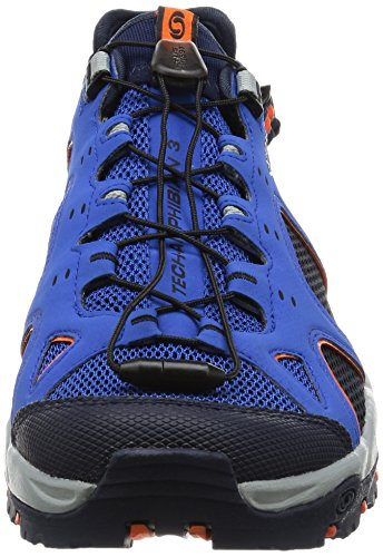 Salomon - Techamphibian 3, Scarpe Da Nordic Walking da uomo Blue