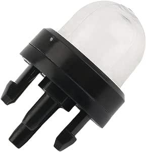 Rockyin 10pcs Primer Bulb Pompa Forma for Walbro Poulan Ppb100e Ppb150e Ppb200 Ppb200e