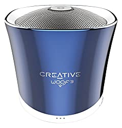 Creative Labs Woof 3 51MF8230AA002 Bluetooth MP3/FLAC Speaker (Crystallite Blue)
