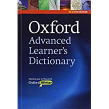 Oxford Advanced Learner's Dictionary: Hardback and CD-ROM with Oxford iWriter: Niveaustufe: Upper-Intermediate to Advanced (B2-C2) (Diccionarios)
