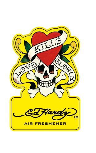 Preisvergleich Produktbild Ed Hardy Lufterfrischer (Lemon)