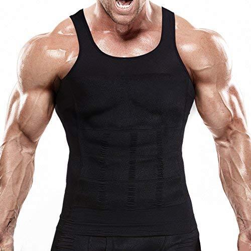 VENI MASEE Mens Slimming Body Shaper Gilet/Chemise Abs Abdomen Mince, Prix/Pièce