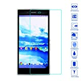 Wunderglass-Sony Xperia Z1 compact 9H Hartglas Panzerglas Glasfolie Displayschutzglas Tempered Folie Glass Schutzfolie Folie Displayschutz aus echt Glas Glasprotector von OKCS