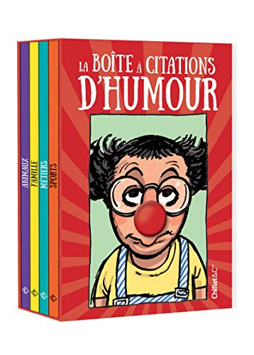 Coffret la boîte à citations d'humour par Collectif