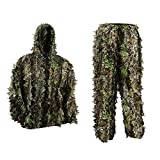 Best Chasse pluie Suits - PELLOR Costume de Camouflage pour Enfant Jungle Jagd Review