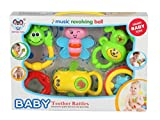 Baby Multicolor Musical Teether cum Ratt...