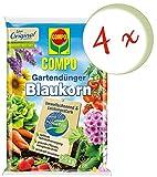 Oleanderhof® Sparset: 4 x COMPO Gartendünger Blaukorn® NovaTec®, 7,5 kg + gratis Oleanderhof Flyer
