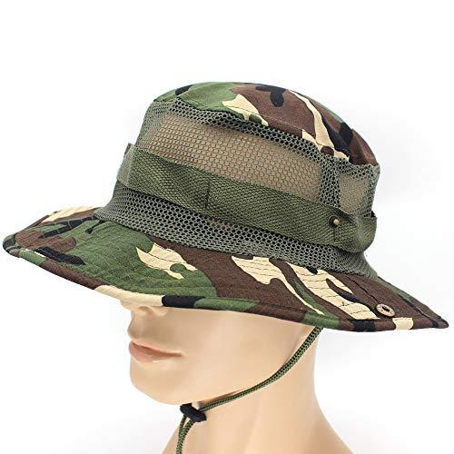 Runder Hut des zufälligen Dschungels des Fischerhutes im Freien, der Fischen-Tarnungsmütze wandert.18 56-62 cm (Alice Im Wunderland Hunde Kostüm)