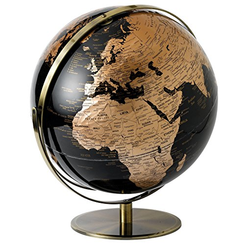 Globe Collection Globes, plastik, kupfer, 43 cm