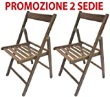 2Stühle faltbar Stuhl Bierzeltgarnitur aus Holz Walnuss zusammenklappbar für Camping-Zubehör
