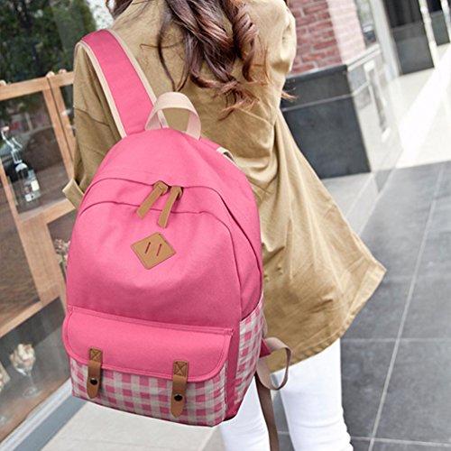 Zaino Per Ragazza Scuola Zaino Chengyang Femminile Zaino Per Il Tempo Libero Zaini Adolescenti Per La Scuola Rosa
