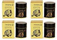 Pack of 4 : (4 PACK) - Clearspring - Org Matcha Green tea (tin) | 30g | 4 PACK BUNDLE