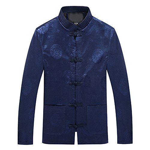 KINDOYO Herbst und Winter Tang Anzug plus Samtjacke Mantel, Kampfkunst Tai Chi Kung Fu Uniform,...
