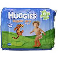 Huggies Couches Super Dry, 20, taille 6(16–30kg)