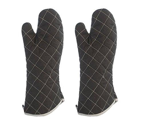 Hitzehandschuhe 280°C Handschuhe Grillhandschuhe für Grill Ofen Küche Koch