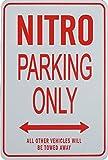 NITRO Parkplatz nur Zeichen - Dodge