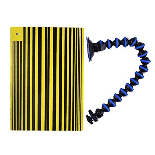 Preisvergleich Produktbild Qiyun TPfocus Spiegel mit Board mit-Auto-Paintless Dent Repair Tools PDR-Halterung für die Anpassung mit,  Gelb