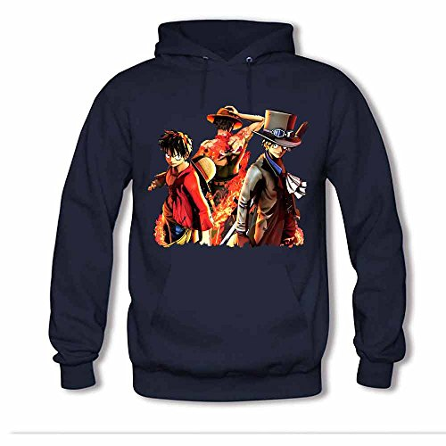 One Piece Luffy and Vinsmoke Sanji Women's Hoodies XXXL