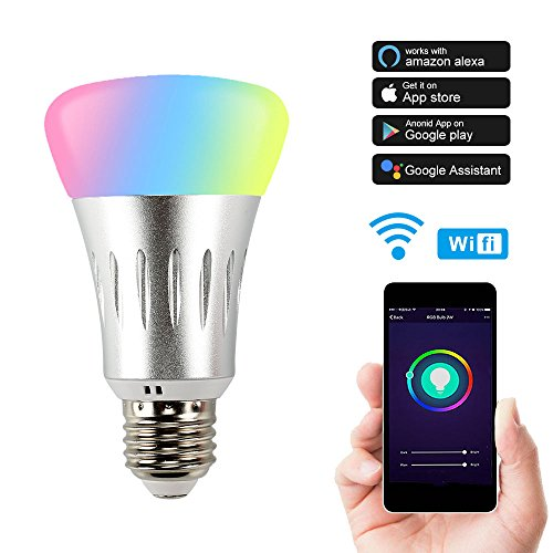Ampoule Intelligente LED WiFi – Lampe Ambiance Dimmable