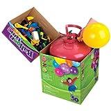Ballon Time Bombona de helio para globos, con 30 globos incluidos.