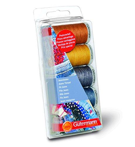 Gutermann Jeans - Juego de hilos de costura