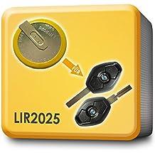 Batería LIR2025 clave mando a distancia RECAMBIO. Apto para BMW 3 5 7 X3 X5 E46 E38 E39 E60 E61 E53 E83
