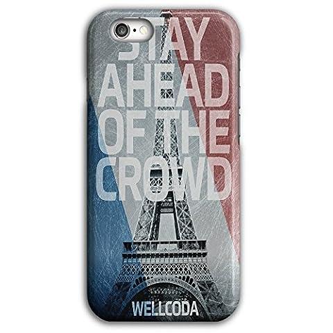 Paris Eiffel FR Wellcoda Frankreich Flagge iPhone 6 Plus / 6S Plus Hülle | Wellcoda