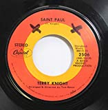 Terry Knight 45 RPM Saint Paul / William & Mary