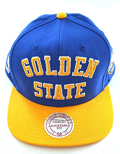 GORRA MITCHELL AND NESS NBA GOLDEN STATE WARRIORS