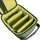JIMITO Angelrucksack Angelgerät Tasche Mit DREI Fächern Praktisch Wasserdicht Verschleißfest