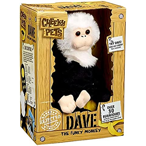 Dave The Funky Monkey - Pupazzo in peluche
