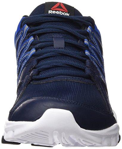 Reebok Yourflex Train 8.0, Scarpe da Corsa Uomo Blu (Collegiate Navy/Blue Sport/White/Black)