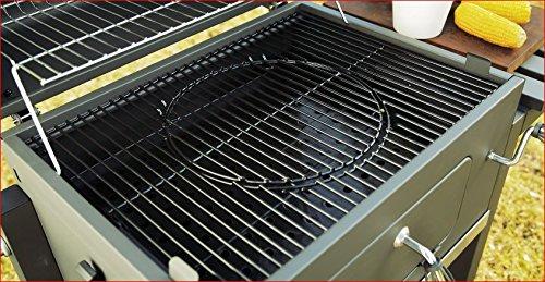 Barbecue chariot à charbon Tepro 1061 - Equipé de roulettes et de 2 pinces à grillades - Avec...