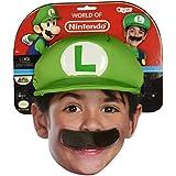 Gorra y bigote Luigi?niño - Única