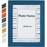 Jago – BRKZ13 – Marco para fotos moderno en tamaño 15 x 20 cm y color azul