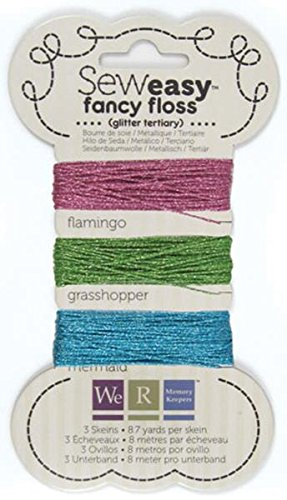 We R Memory Keepers Sew Easy Glitter Floss, Tertiär (Easy R Memory Keepers Sew We)