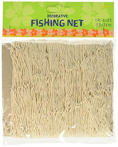 Deko-Fischernetz, natur, 1,8 x 2,4 m - Ballon-netz