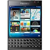 "BlackBerry Passport - Smartphone libre Blackberry (pantalla 4.5"", cámara 13 Mp, 32 GB, Quad-Core 2.26 GHz, 3 GB RAM, teclado QWERTZ alemán) , negro"