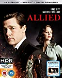 Allied (4K UHD Blu-ray + Blu-ray + Digital Download) [2016] [Region Free]